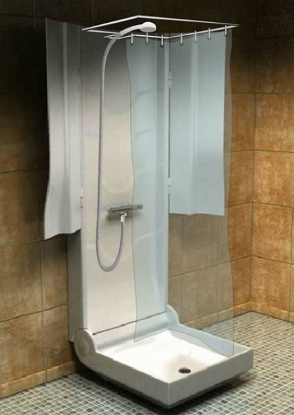The Many Options For Showers In Tiny Houses