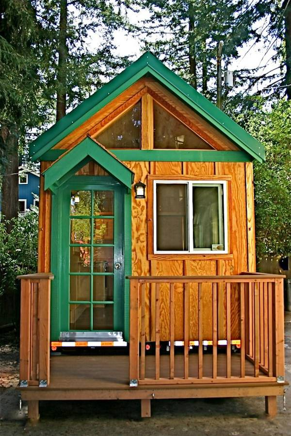 Front View of Molecule Tiny House