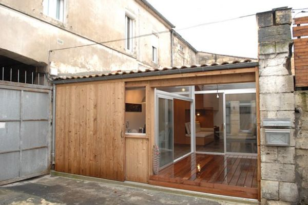 Garage Converted to a Modern Small House