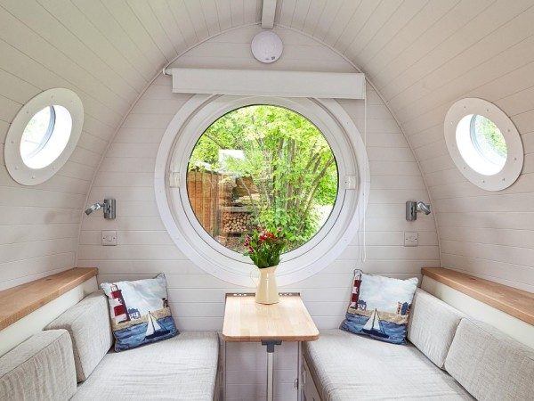 Tiny House Vacations Garden Pod Micro Cabin in Winchester