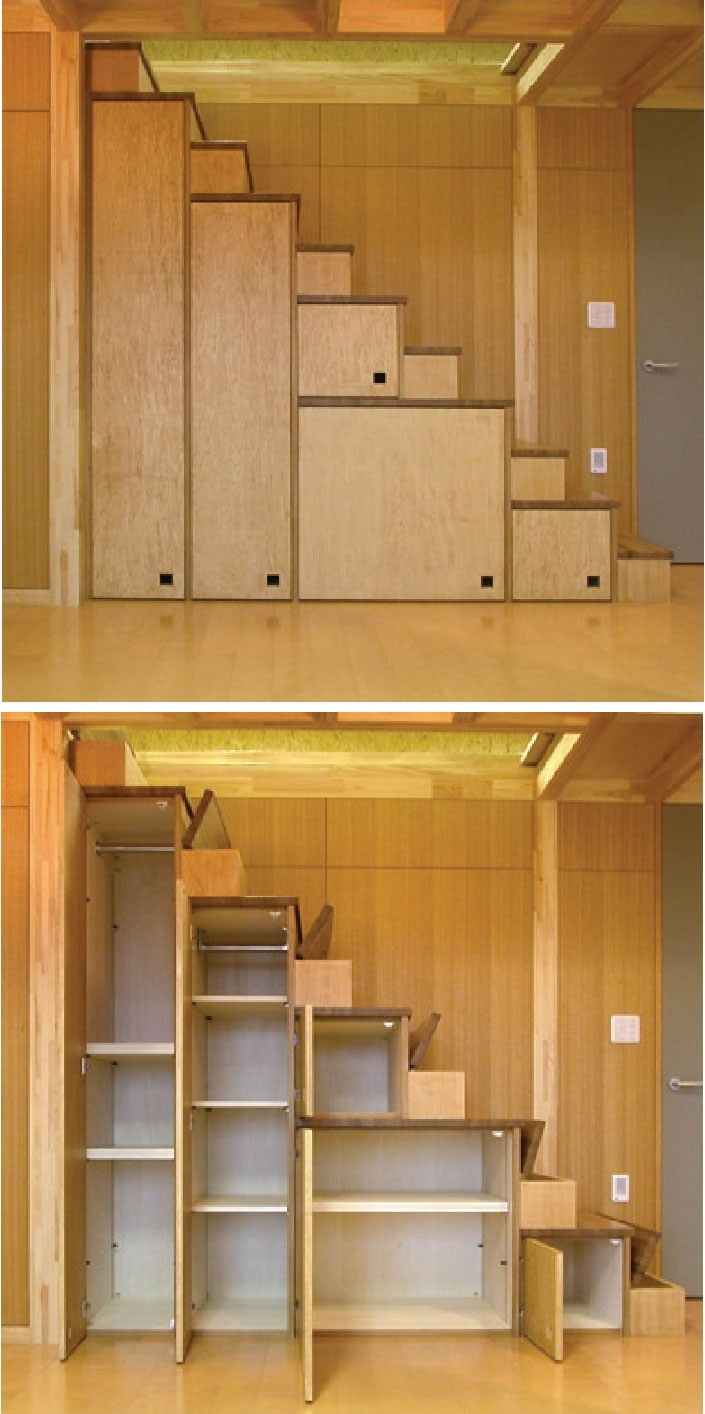 Tiny House Furniture Fridays 22 Staircase Storage Beds   Simple Stairs Design For Small House