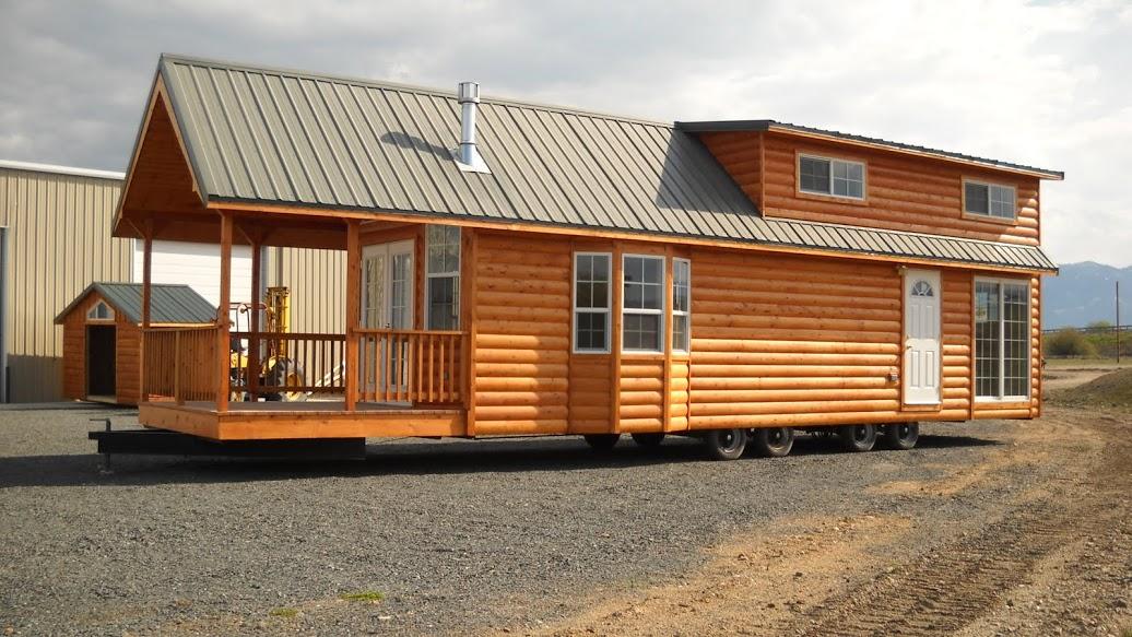 Gromer Park Model Tiny Home On A Trailer