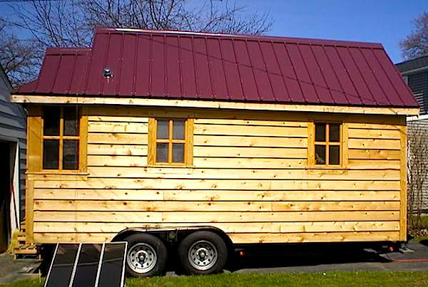 Jonathan's Tiny Home on Wheels