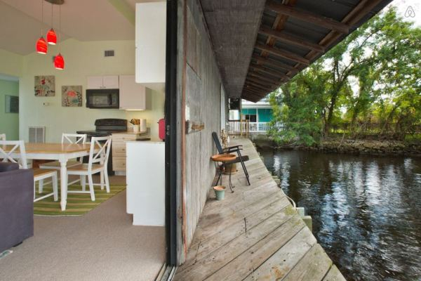 River Dock House Deck