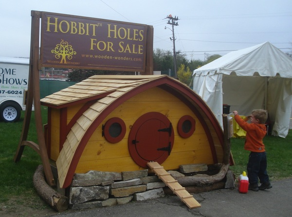 Hobbit Holes by Wooden Wonders