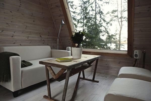 Interior of Micro Home