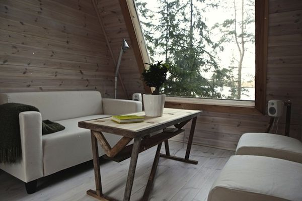 Interior of Micro Home