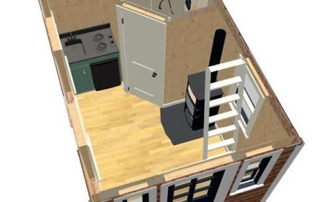 Jason Mcqueen S 8x12 Tiny House Design