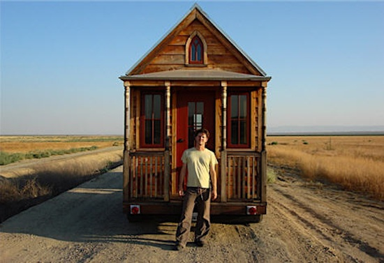 Jay Shafer and his tiny house