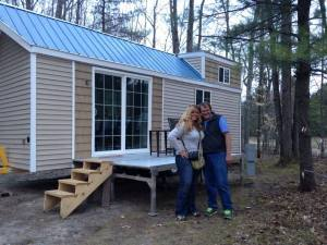 Couple Build $15k 200 Sq. Ft. Tiny Home