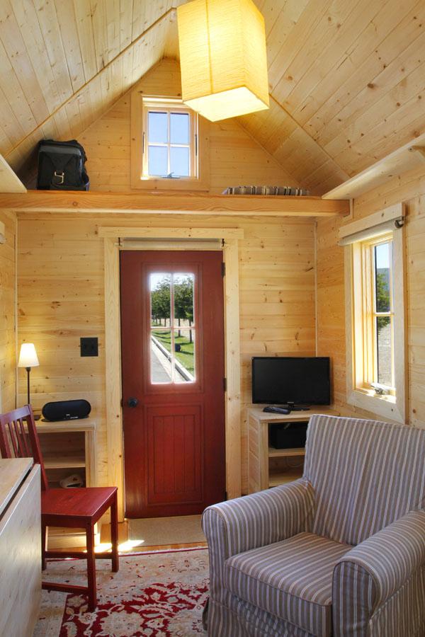 JT's Tumbleweed Tiny House Interior