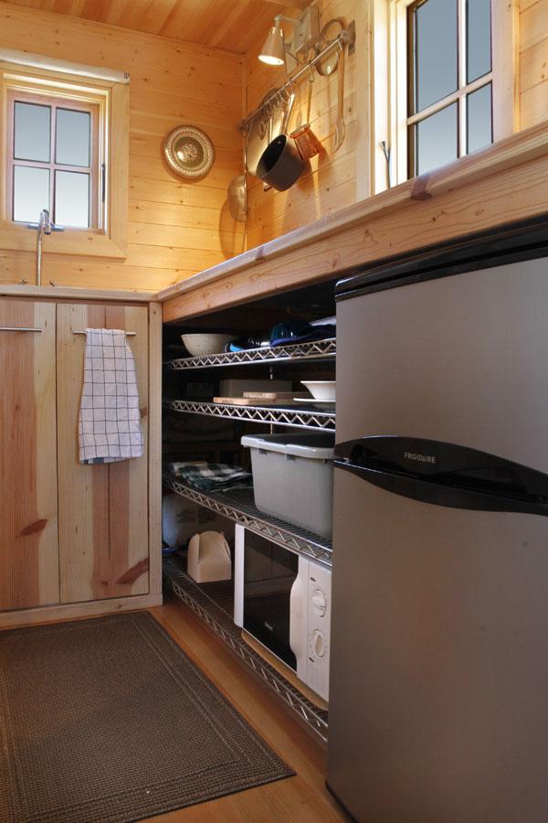 Tumbleweed Tiny House Kitchen