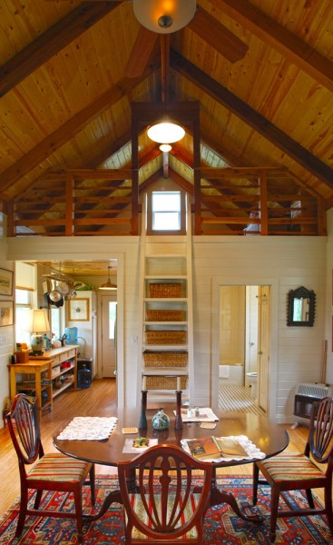 Small House Plans Under 1000 Sq Ft Pre Fab.  480 Sq Ft Kanga Cottage Cabin with Screened Porch