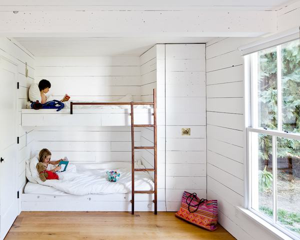 Kids Bunk Beds and Bedroom in a Tiny House