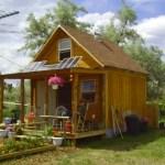 LaMar's Small Off Grid Solar Cabin