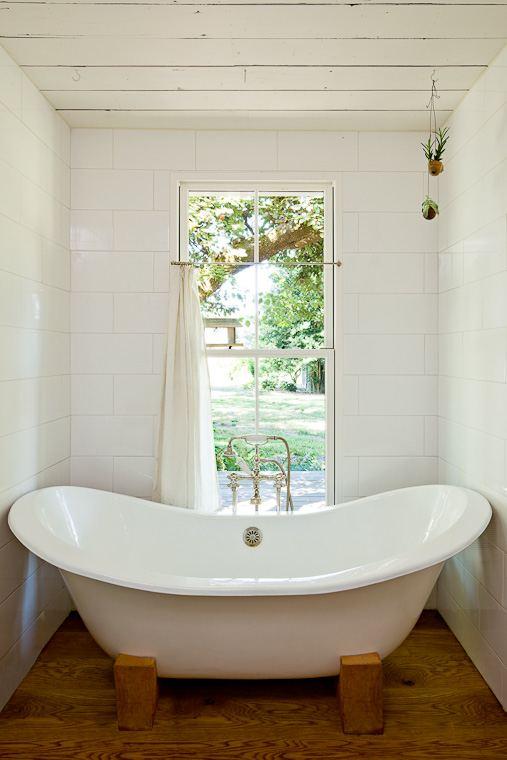 Big Bath Tub in a Tiny House