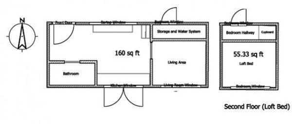 Leafhouse Version 2 Floor Plan