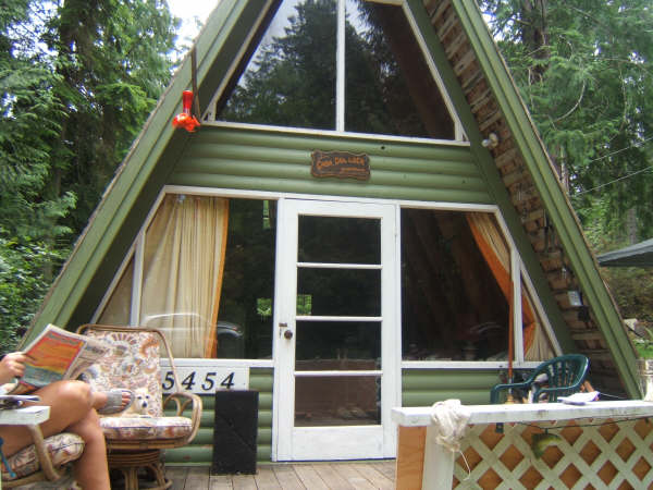 Little A Frame Cabins On The Sunshine Coast Of Bc