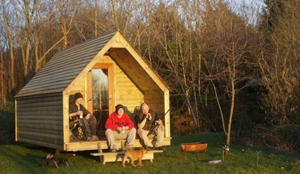 Log Pod Tiny Cabin