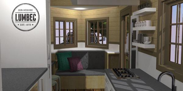Lumbec tiny houses in gatineau quebec for Design interieur gatineau