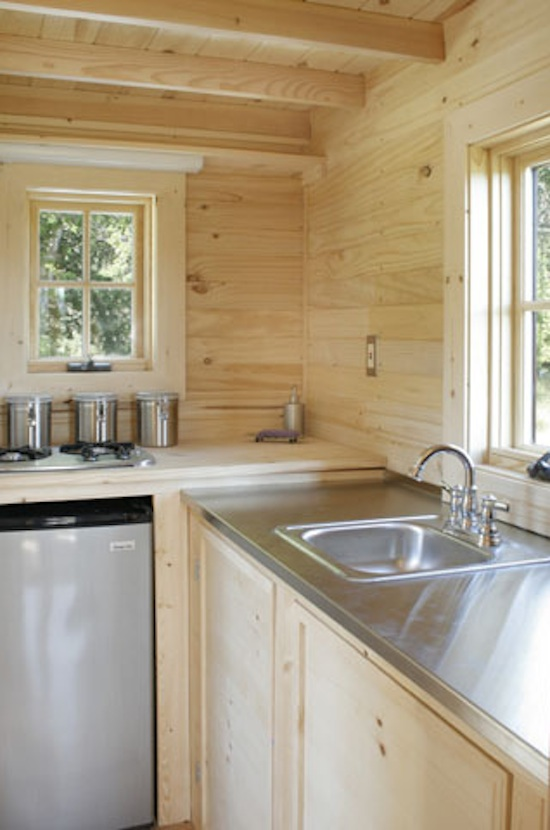 Fencl Tiny House in the Kitchen