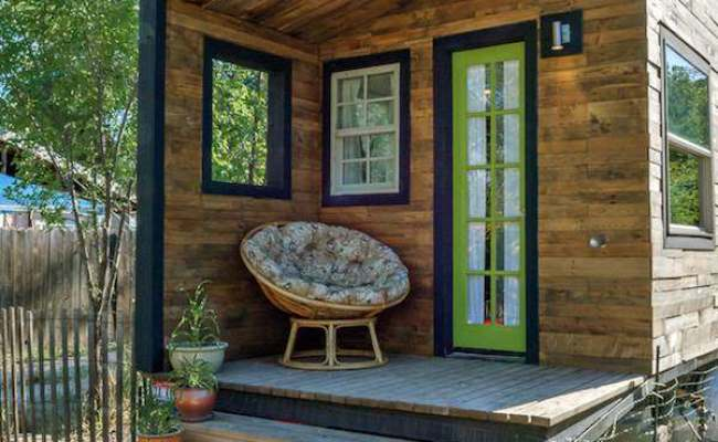 Woman Builds Her Own Diy 196 Sq Ft Micro Home For 11k