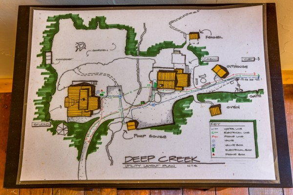 Deep Creek Property Map