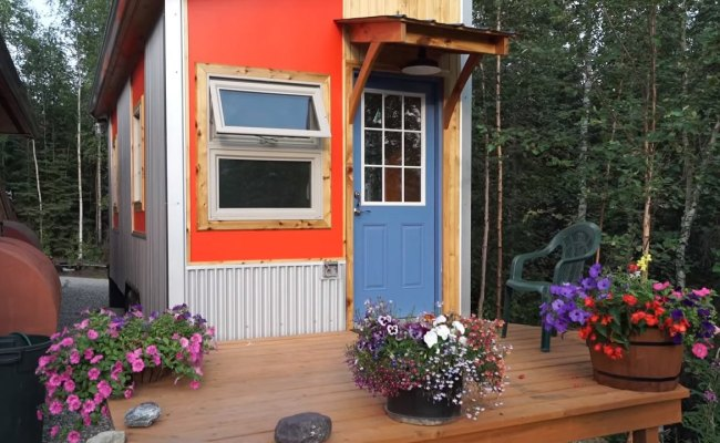 Mark S Modern Tiny House On Wheels In Alaska