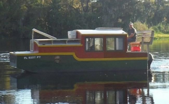 Tiny House Vacation In A Tiny Shantyboat In Deland Fl