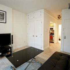 Kitchen Cabinets Crown Molding Remodeling Kansas City Tiny Studio Apartment In Nyc: Instead Of A Hotel You Can ...