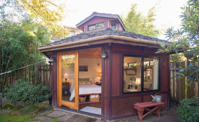 Yurt Like Micro Cabin Studio Vacation In Portland Oregon