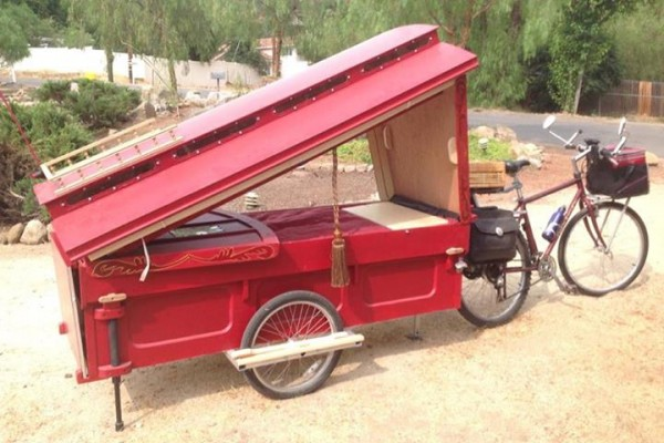 Bicycle Powered Micro Gypsy Caravan