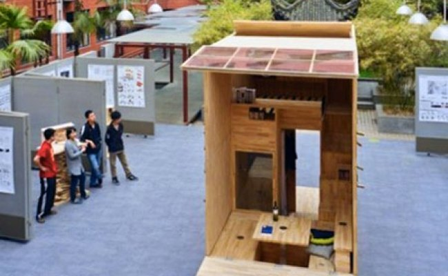 Architecture Students In China Build 75 Sq Ft Tiny House