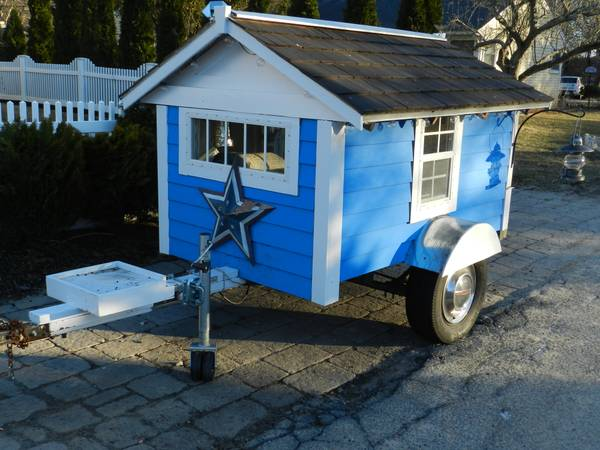 695 for a Handmade Micro Travel Trailer For Sale