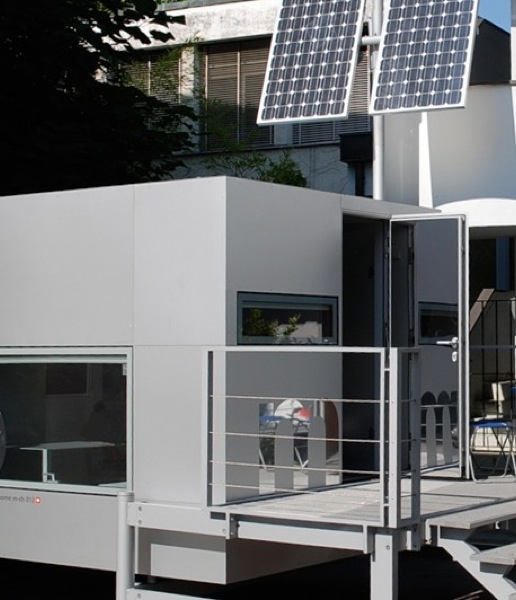 Micro Compact Home is Modern and Japanese Inspired