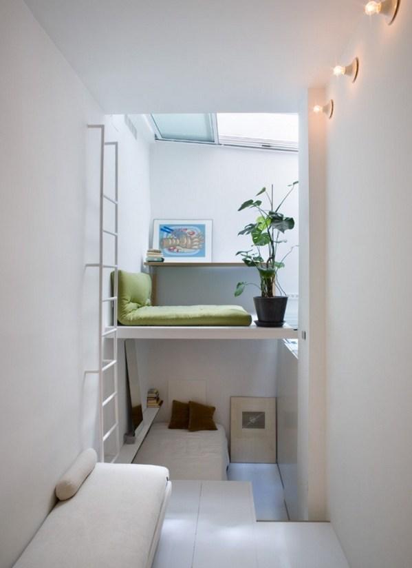 226 Sq. Ft. Minimalist Multi-Level Apartment