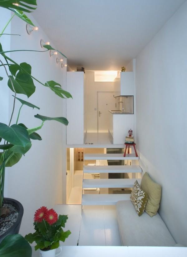 226 Sq Ft Minimalist MultiLevel Apartment