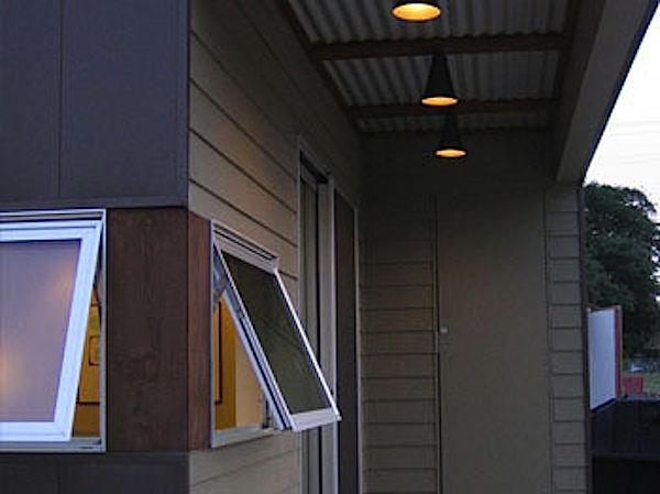 Modern Prefab Backyard Micro Studio by ClearSpace Homes
