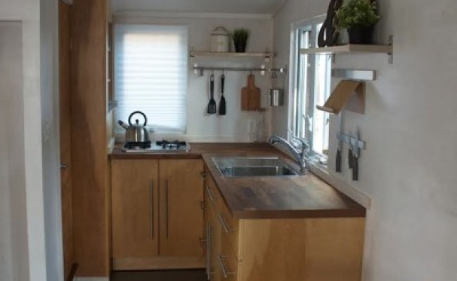 Try Out Tiny Living In The Liberation Tiny Home On Wheels