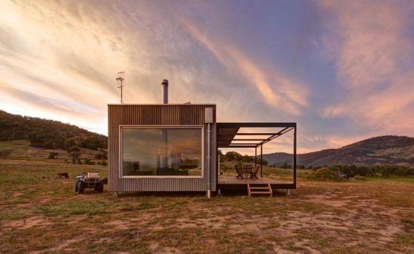 686 Sq Ft Modern Solar Powered Off Grid Cabin