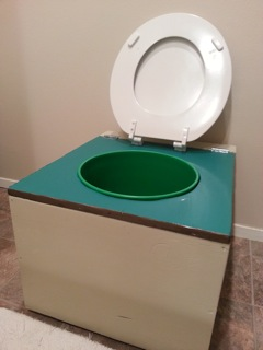 Nicole's DIY Composting Toilet Project