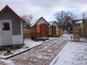 OM Build Tiny House Community for the Homeless