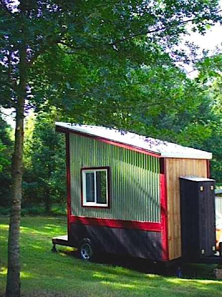 Outhouse Tiny House for Sale by Tennessee Tiny Homes for