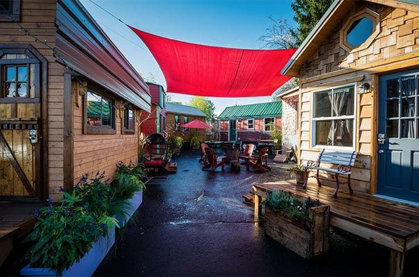 Free Tiny House Mixer Event in Portland Oregon