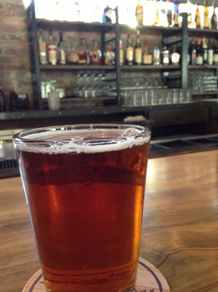 Off With Their Gourds PumpkAnne Ale at Wicked Weed in downtown Asheville