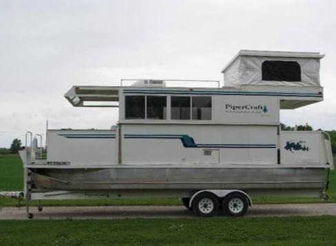 Trailerable house boat plans