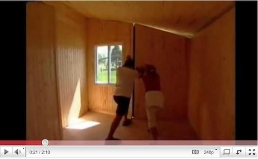 Portable and Foldable Tiny House - the Habitaflex