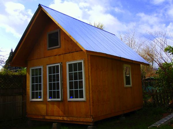 Travis' Custom Made and Designed Prefab Tiny Cabin Fully Assembled