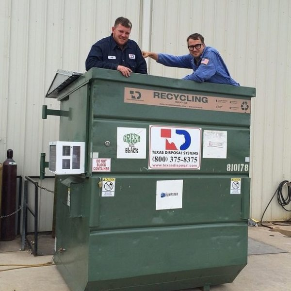 prof-dumpster-new-roof-and-ac-happy-birthday
