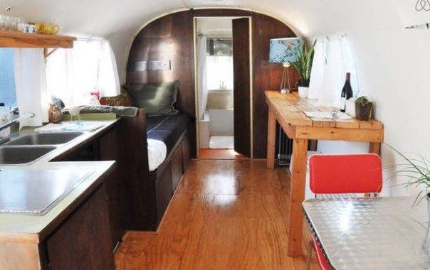Remodeled 1969 Airstream Guest Cabin For Sale